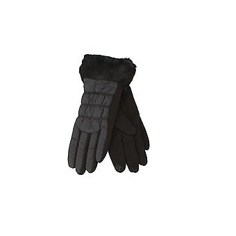 Eastern Counties Leather Womens/Ladies Giselle Faux Fur Cuff Gloves