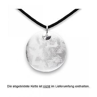 bastian inverun - 925/- silver pendant, matted/ brushed - 24390