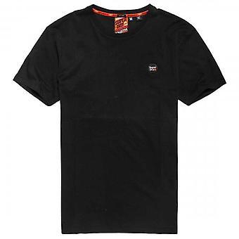 Superdry Collective Logo T-Shirt Schwarz 02A