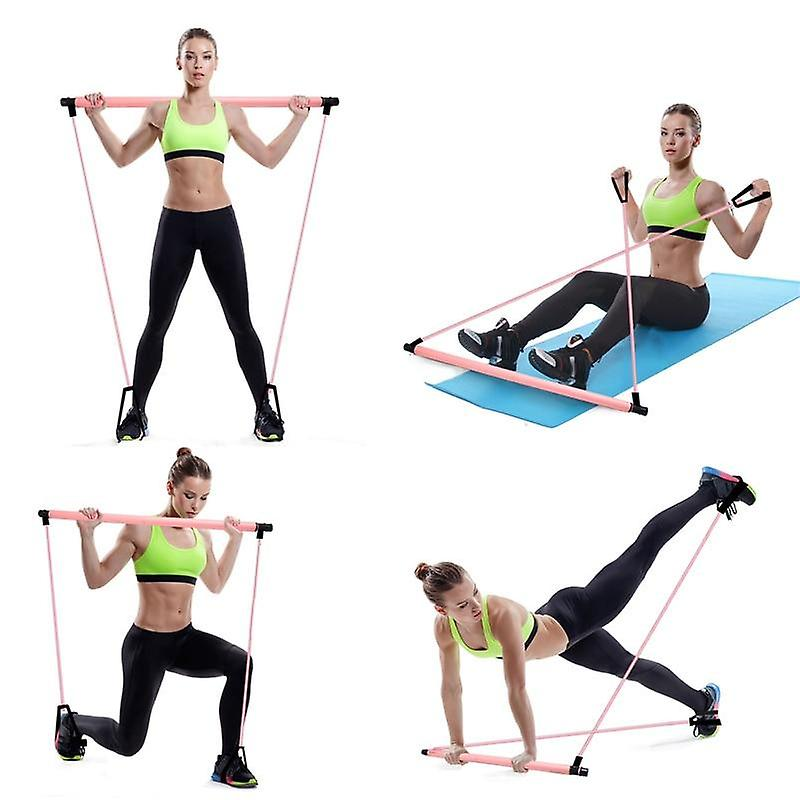 Exercise Stick Toning Bar Fitness Room Yoga Resistance Bands