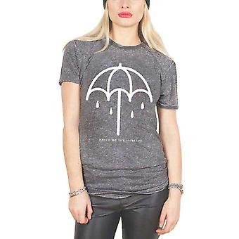 Bring Me The Horizon T Shirt Thats the Spirit Umbrella Official slim fit Burnout