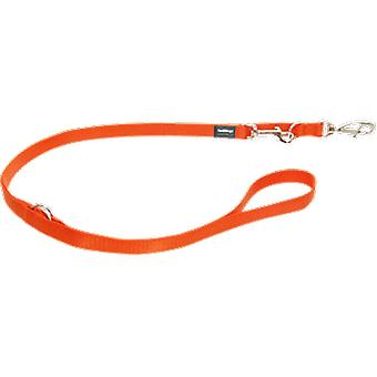 Punainen Dingo Lisa Correa monivaiheinen laskurit oranssi (koirat, kaulus kaulanauha, johtaa ja valjaat, johtaa)