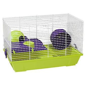Voltrega White Hamster Cage 948 50,5 x 28 x 32 Cm. (Small pets , Cages and Parks)
