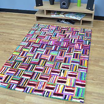 Katoen Chindi Sunshine veelkleurige tapijten 03