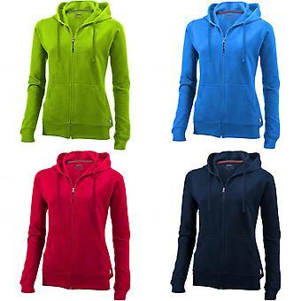 Slazenger dame/damer åben fuld lynlås hætteklædte damer Sweater