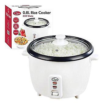 Quest ris komfyr hvit 0,8 L 700 Watt elektrisk varmere Maker ikke Stick bolle