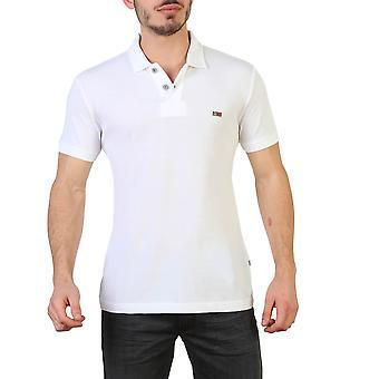 Napapijri Original Men All Year Polo - White Color 30818
