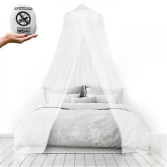Mosquito Nets 4 U Large Mosquito Net Bed Canopy Maximum Insect Net Protection No Skin Irritation