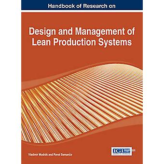 Design and Management of Lean Production Systems by Modrak