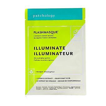 Patchology FlashMasque 5 Minute Sheet Mask - Illuminate 4x28ml/0.95oz