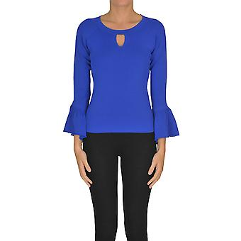 Nenette Ezgl266131 Women's Blue Viscose Blouse