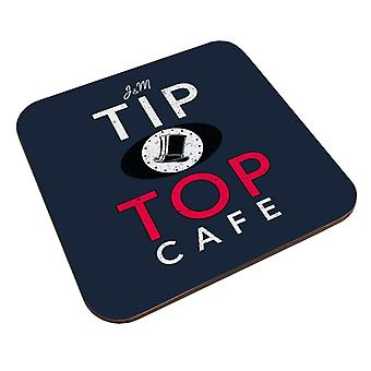 Groundhog Day Tip Top Cafe Coaster