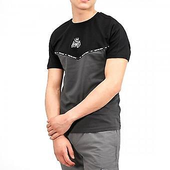 Kings Will Dream Junior Jarva Black/Grey T-shirt J550
