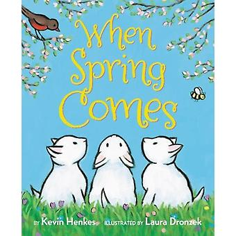 When Spring Comes Board Book by Kevin Henkes