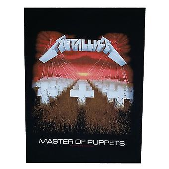 Metallica Master Of Puppets Back Patch
