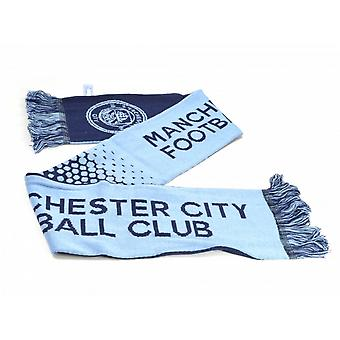 Manchester City FC Official Football Fade Scarf