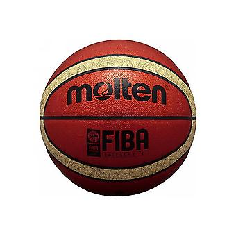 Gesmolten B6T5000 33 Libertria PU Leder Glanzende officiële match 12 panel basketbal