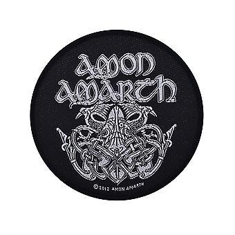 Amon Amarth Odin Woven Patch