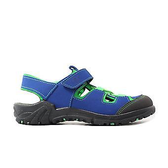 Ricosta Gerald 6522600-151 Azur Blue Boys Closed Toe Sandals