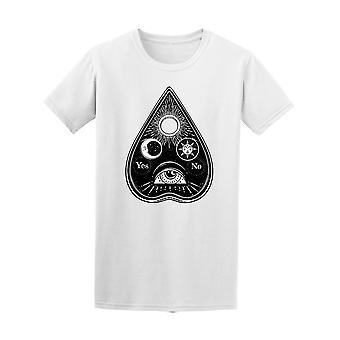 Böhmische handgezeichnete Ouija-T-Shirt Herren-Bild von Shutterstock