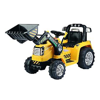 RideonToys4u Electric Ride On Tractor Excavator Yellow Ages 3-7 Years