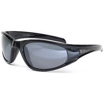 Bloc Eyewear Stingray XR Black Sunglasses (S11 Grey Cat 3 Lens)