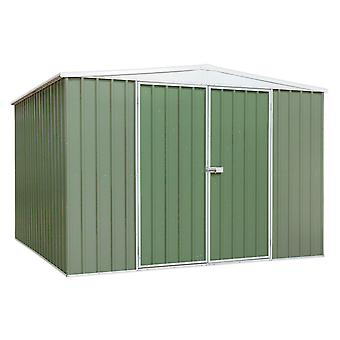 Sealey Gss3030G Galvanized Steel Shed Green 3 X 3 X 2.1Mtr