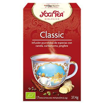 Yogi Tea Infusão Clássica 17 Saquetas
