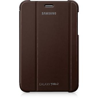 Samsung Diary Protective Case for Galaxy Tab 2 7.0 amber brown