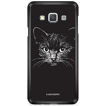 Bjornberry Shell Samsung Galaxy A3 (2015) - Black/White Cat
