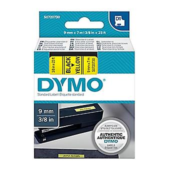 Dymo D1 Blk On Yell 9 mm X 7 M Bande