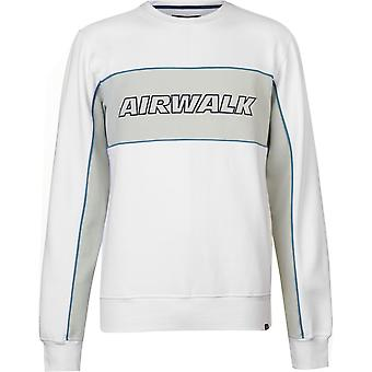 エアウォーク ロゴ セーター メンズ