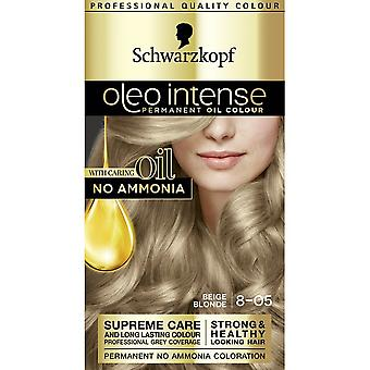 Schwarzkopf Oleo Intense Hair Colour - 8-05 Beige Blonde