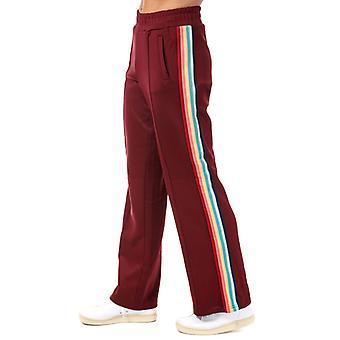Women's Only Misty Rainbow Stripe Jog Pants in Brown