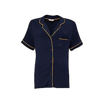 Cyberjammies Alexa 4510 Women-apos;s Navy Blue Revere Pyjama Top