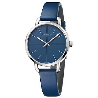 Calvin Klein K7B231VN Even Quartz Blue Dial Ladies Watch