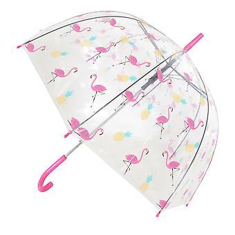 X-brella Flamingo Pineapple Auto Open Umbrella