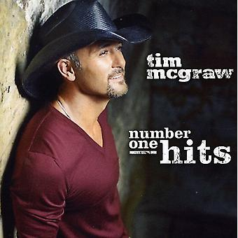 Tim McGraw - Number One Hits [CD] USA import