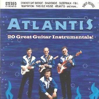 Atlantis - 20 Great Guitar Instrumentals [CD] USA import
