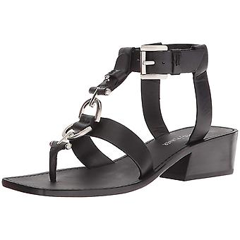 Donald J Pliner Womens Dena Leather Open Toe Casual Ankle Strap Sandals