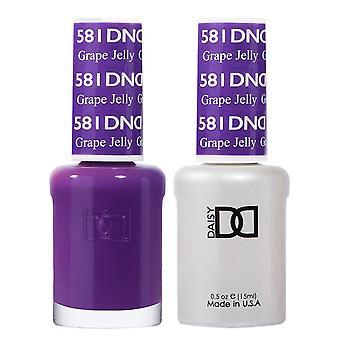 DND Duo Gel & Nail Polish Set - Grape Jelly 581 - 2x15ml