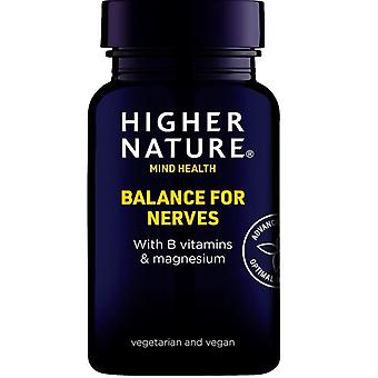 Higher Nature Balance for Nerves Vegetables Capsules 180 (QBN180)