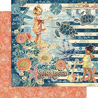 Graphic 45 Sun Kissed 12x12 Inch Paper Pack
