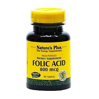 Acide folique 90 comprimés