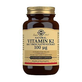 Vita K2 50 capsule vegetali di 100mg