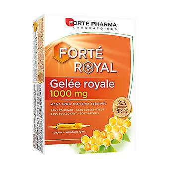 Royal Jelly 1000 mg 20 ampoules
