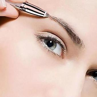 Portable And Painless Eye Brow Epilator - Razor Makeup Mini Shaver Facial Hair