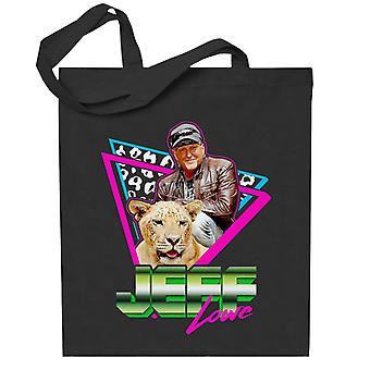 Jeff Lowe 80-luvun Retro Tiger Kuningas Totebag