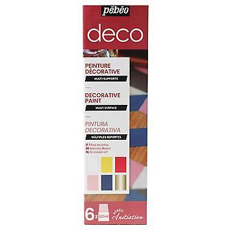 Pebeo Deco Gloss Initiation Set 6 x 20ml