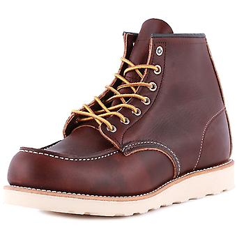 Red Wing 6-inch Moc Toe Mens Classic Boots in Brown